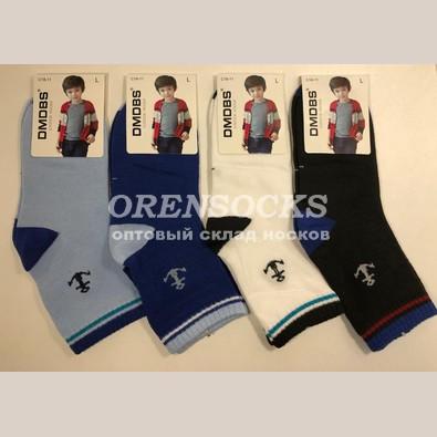 dbffbaf6e418c Детские носки в упаковке 12 шт разных расцветок с якорем хорошего качества  хлопковые арт.: